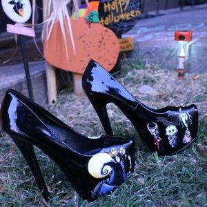 Shoes - Nightmare Before Christmas Shoes Heels